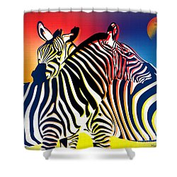 Wild Life 2 Shower Curtain by Mark Ashkenazi
