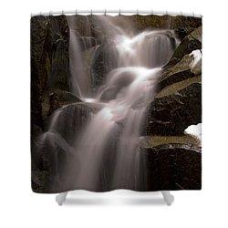 Wildcat Falls Shower Curtain by Bill Gallagher