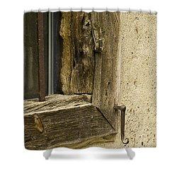 Window Frame Detail 2 Shower Curtain by Heiko Koehrer-Wagner