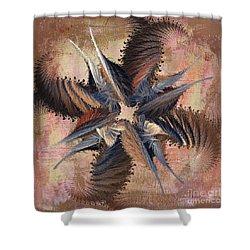 Winds Of Change Shower Curtain by Deborah Benoit
