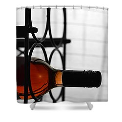 Wine Rack Shower Curtain by Toppart Sweden