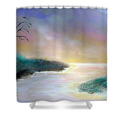Winter Dawn 1 Shower Curtain by Alys Caviness-Gober