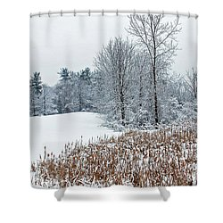 Winter Landscape Shower Curtain by Aimee L Maher Photography and Art Visit ALMGallerydotcom