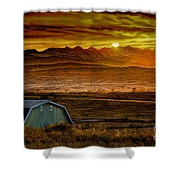 Winter Solstice Shower Curtain by Jon Burch Photography