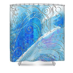 Winter Solstice  Shower Curtain by Shawna Rowe