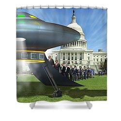 Wip - Washington Field Trip Shower Curtain by Mike McGlothlen