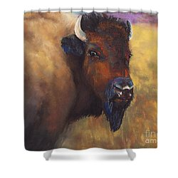 With Age Comes Beauty Shower Curtain by Frances Marino