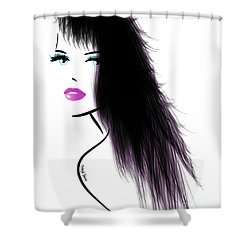 Woman 5 Shower Curtain by Cheryl Young