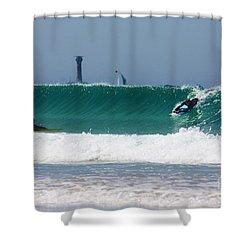 Wonderwall Shower Curtain by Terri Waters