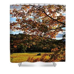 Woodstock Vermont Shower Curtain by Edward Fielding