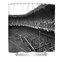 World Series In New York Shower Curtain by Underwood Archives