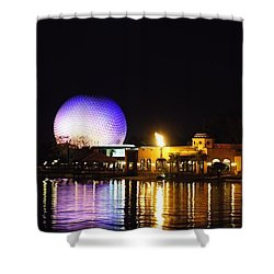 World Showcase 2 Shower Curtain by Jenny Hudson
