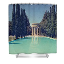 Worship Shower Curtain by Laurie Search