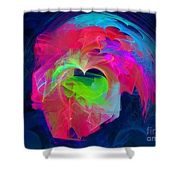 X Shower Curtain by English Landscapes