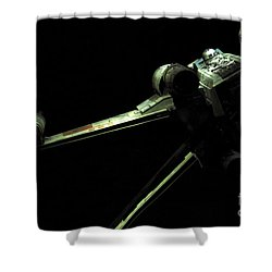 X-wing Fighter Shower Curtain by Micah May