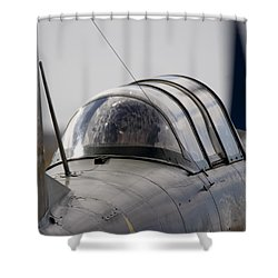 Yak Yak Shower Curtain by Paul Job