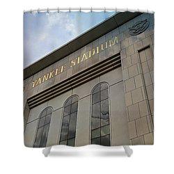Yankee Stadium Shower Curtain by Stephen Stookey
