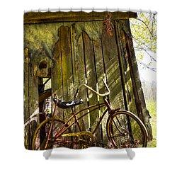 Yesterday Shower Curtain by Debra and Dave Vanderlaan