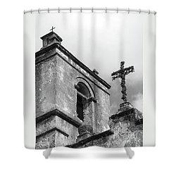 Yesterday Today Eternity Shower Curtain by Joe Jake Pratt