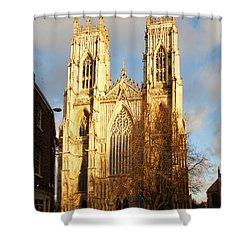 York Minster Shower Curtain by Neil Finnemore