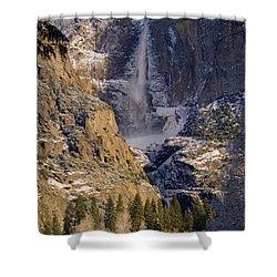 Yosemite's Splendor Shower Curtain by Bill Gallagher