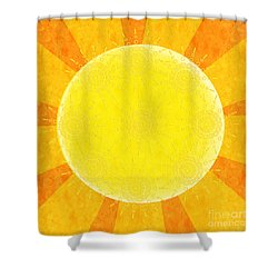 You Are The Sunshine Of My Life Shower Curtain by Andee Design