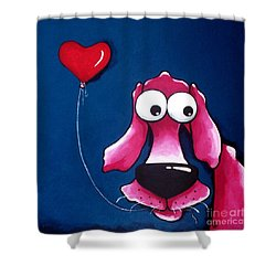 You Have My Heart Shower Curtain by Lucia Stewart