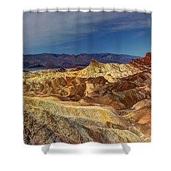 Zabriskie Point Shower Curtain by Heidi Smith