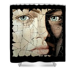 Zara Shower Curtain by Steve Bogdanoff