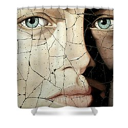 Zara - Study No. 1 Shower Curtain by Steve Bogdanoff