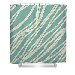 Zebra Shower Curtain by Aged Pixel