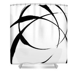 Zen Circles 4 Shower Curtain by Hakon Soreide