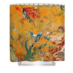 Zen  Shower Curtain by Nancy Kane Chapman