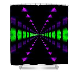 Any Way You Slice It Shower Curtain by Tim Allen