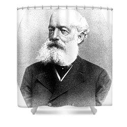 August Kekulé, German Organic Chemist Shower Curtain by Science Source