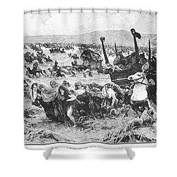Balkan Insurgency, 1876 Shower Curtain by Granger