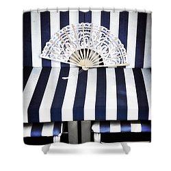Beach Chair Shower Curtain by Joana Kruse