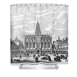 Bethnal Green Market, 1869 Shower Curtain by Granger