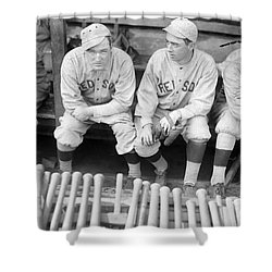 Boston Red Sox, 1916 Shower Curtain by Granger
