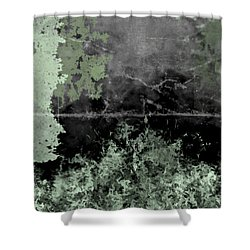 Camo Shower Curtain by Christopher Gaston