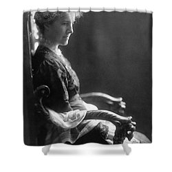 Charlotte Perkins Gilman Shower Curtain by Granger