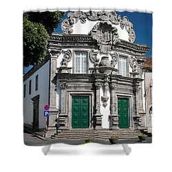Church Shower Curtain by Gaspar Avila