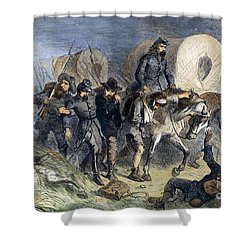 Civil War: Shiloh, 1862 Shower Curtain by Granger