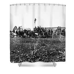 Civil War: Telegraph, 1864 Shower Curtain by Granger