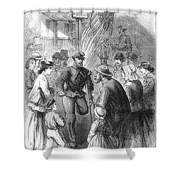 Civil War: Veteran, 1867 Shower Curtain by Granger