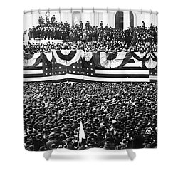 Clevelands Inauguration Shower Curtain by Granger