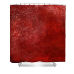 Crimson China Shower Curtain by Christopher Gaston