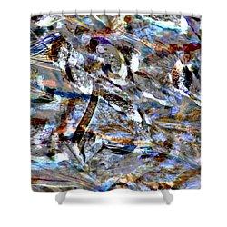 Digital Fall Shower Curtain by LeeAnn McLaneGoetz McLaneGoetzStudioLLCcom