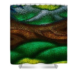 Dragon's Tale Shower Curtain by Christopher Gaston