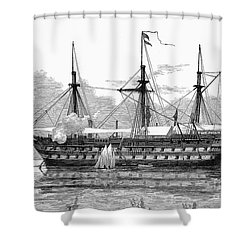 East Africa: Slave Trade Shower Curtain by Granger